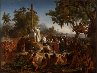 Primeira Missa no  Brasil, Vitor Meireles, 1860