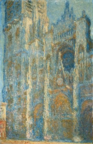 Catedral de Rouen. Obra do impressionista Claude Monet pintada entre 1892 e 1894. Enquanto o Simbolismo florescia na literatura, o Impressionismo se desenvolvia nas artes plásticas.