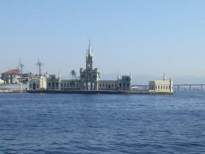 Ilha Fiscal, onde aconteceu o último baile do Império. Foto: Andréa Motta