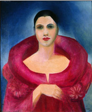 Tarsila do Amaral. Auto-retrato. (1923)
