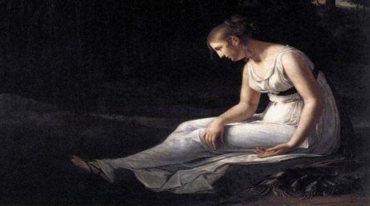 Melancolia. Constance Marie Charpentier (1801).