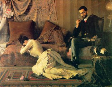 Arrufos (1887), Belmiro de Almeida