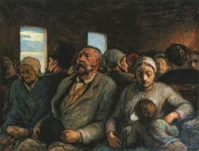 Vagão de 3ª classe (1862), Honorè Daumier