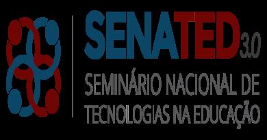 3º SENATED – Seminário Nacional de Tecnologias  na  Educação